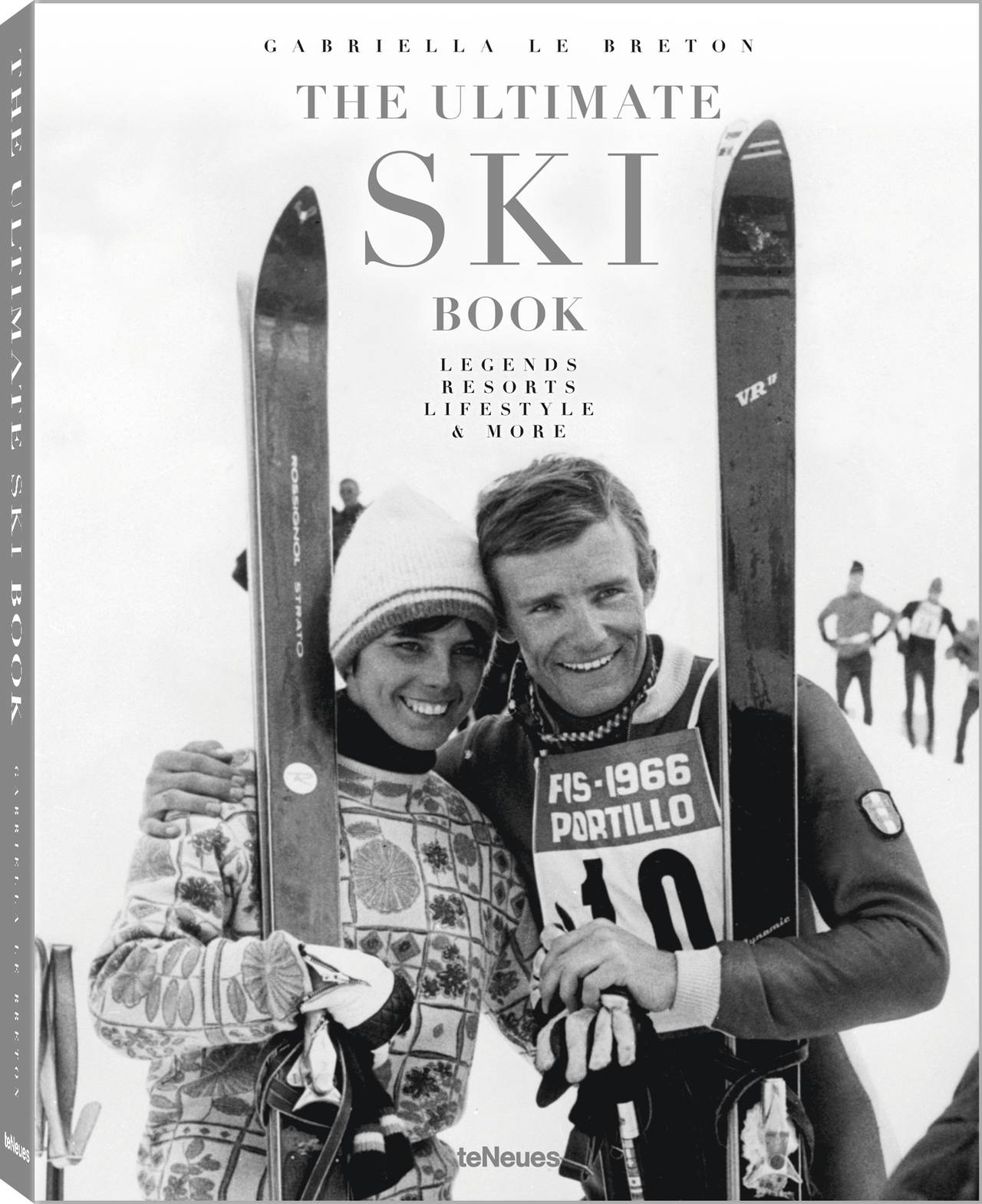 © The Ultimate Ski Book - Legends, Resorts, Lifestyle & More by Gabriella Le Breton, published by teNeues, www.teneues.com,  Jean-Claude Killy and Annie Famose at the Alpine Skiing World Championship in Portillo, Chile, 1966, Photo © AFP/Getty Images