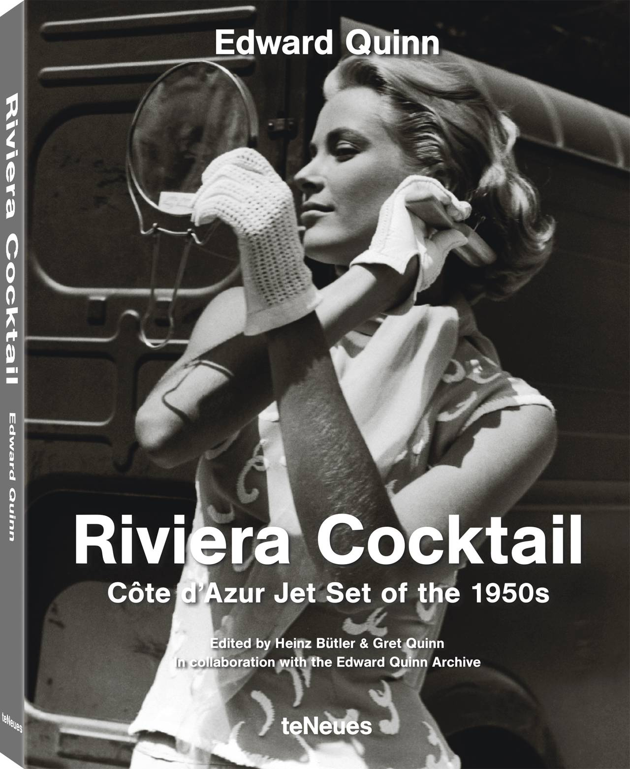 © Riviera Cocktail, Edward Quinn - Côte d'Azur Jet Set of the 1950s, Small Format Edition, published by teNeues, www.teneues.com, Photo © edwardquinn.com