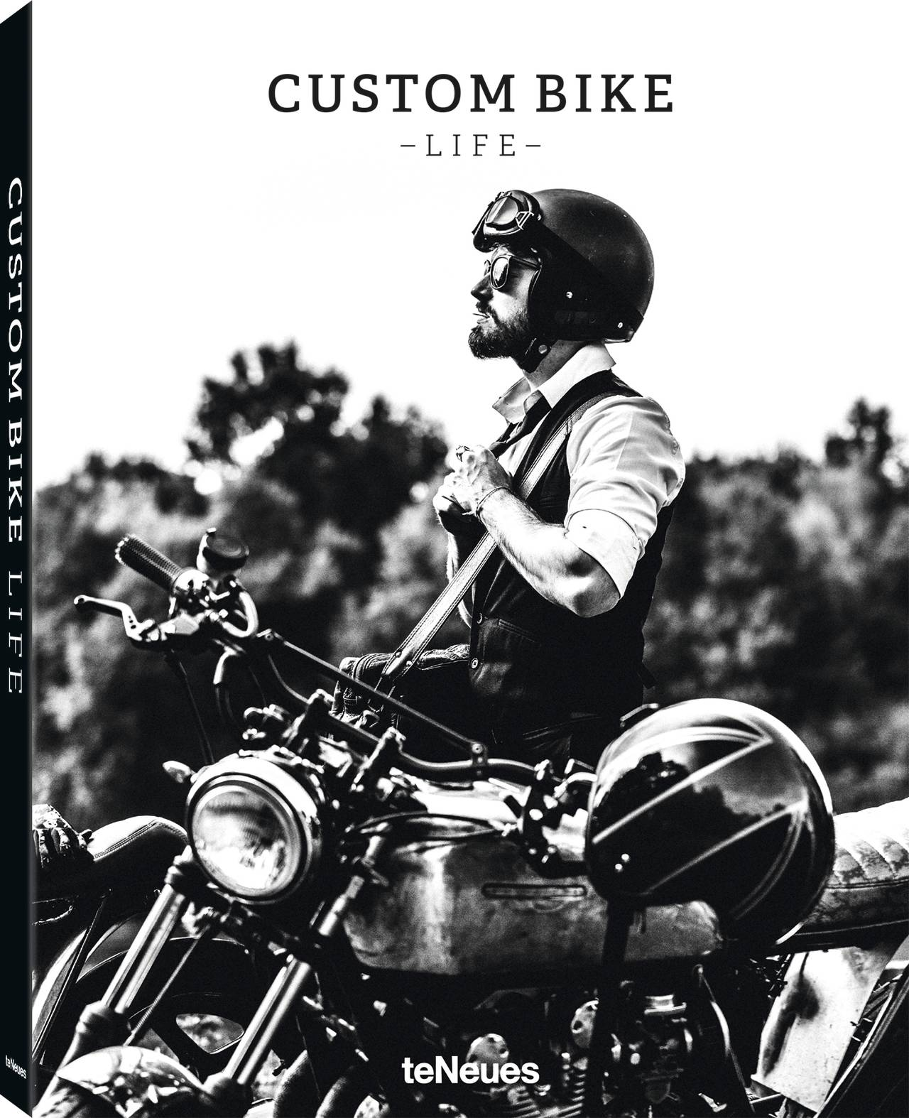 © Custom Bike Life, published by teNeues, € 49,90, www.teneues.com. Distinguished Gentleman's Ride, Photo © Laurent Nivalle