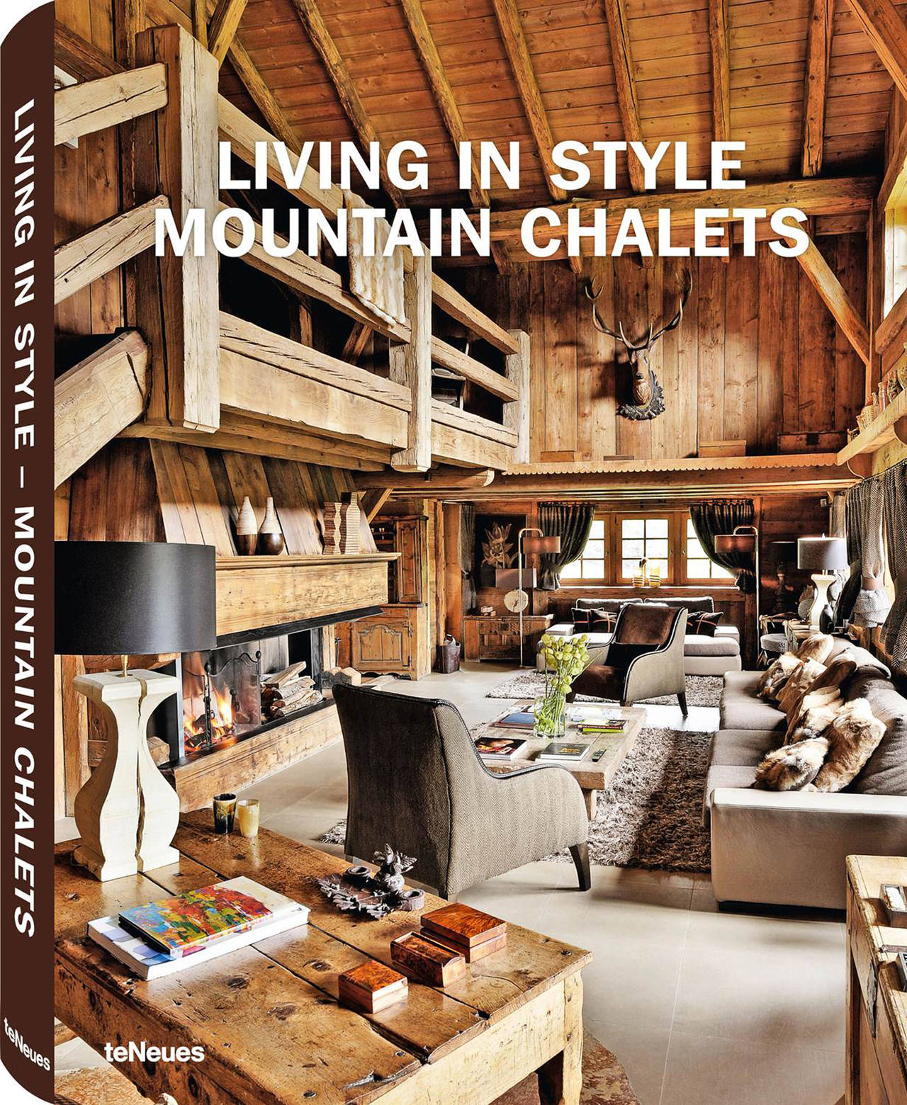 © Living in Style Mountain Chalets, Le Chalet des Fermes de Marie, Megève, France, published by teNeues, - www.teneues.com. Photo © Frédéric Ducout