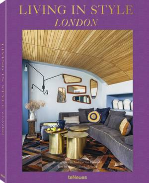 © Living in Style London, to be published by teNeues in July 2017, www.teneues.com, Rooftop Sanctuary, Bayswater, Photo © 2017 Andreas von Einsiedel. All rights reserved.