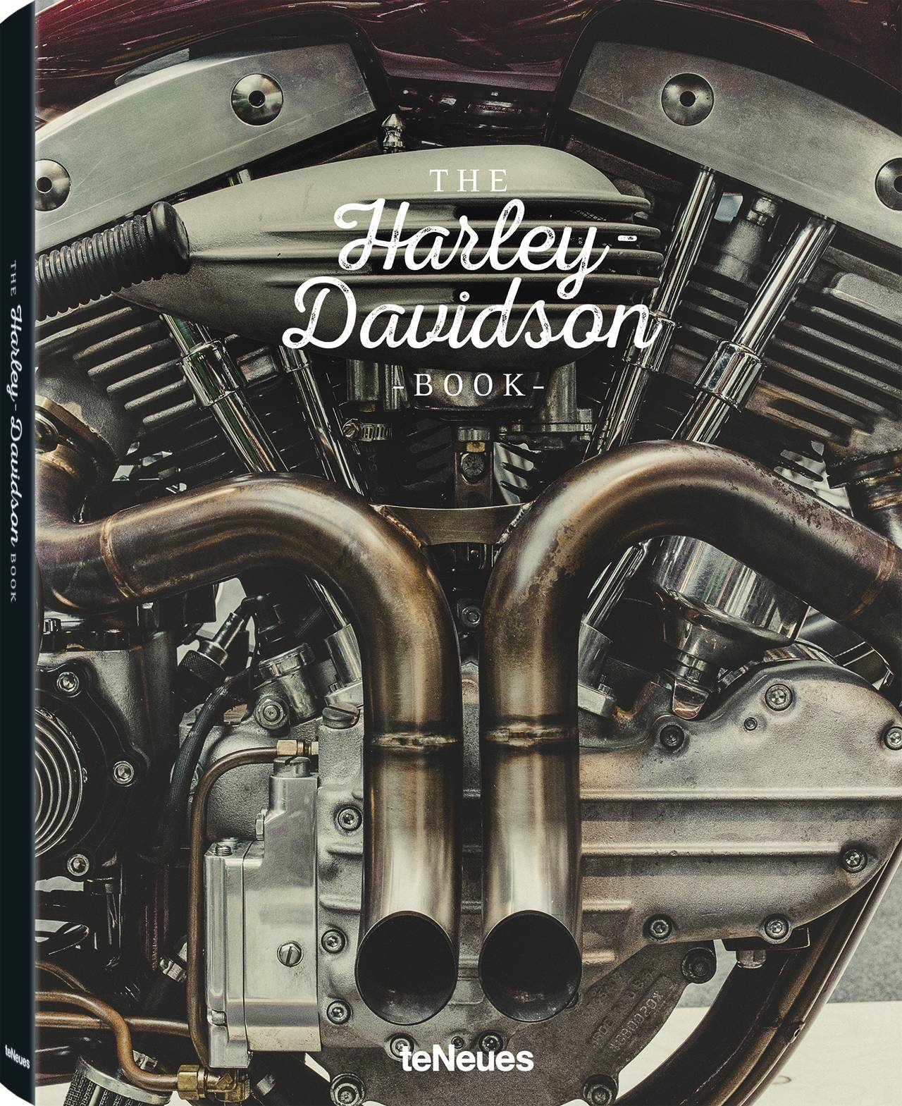 © The Harley-Davidson Book, published by teNeues, www.teneues.com. Harley-Davidson Shovelhead-engine, Photo © Laurent Nivalle
