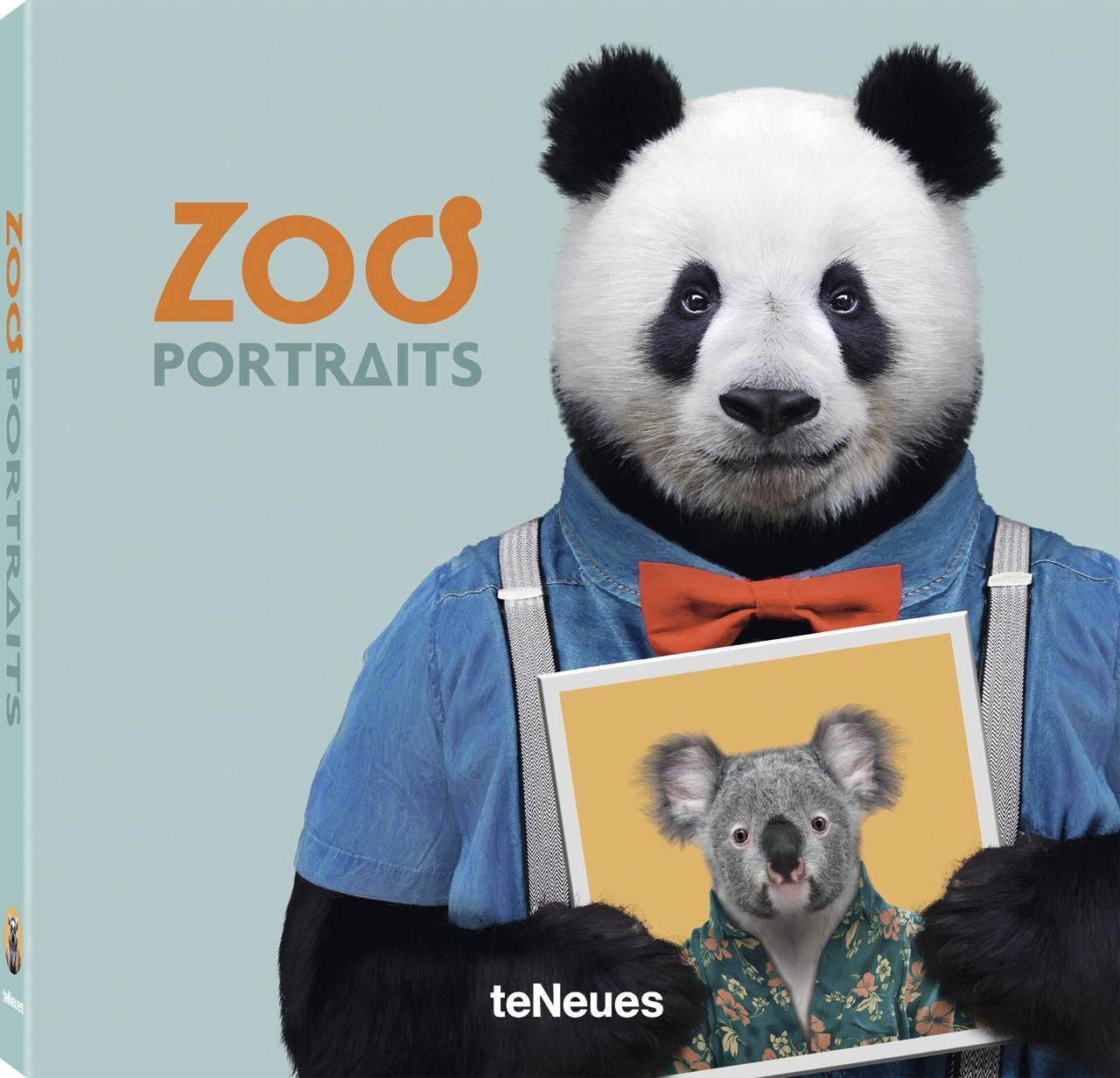 © ZOO PORTRAITS by Yago Partal, published by teNeues, www.teneues.com, BAO THE GIANT PANDA © 2017 Zoo Portraits S. L. All rights reserved. www.zooportraits.com