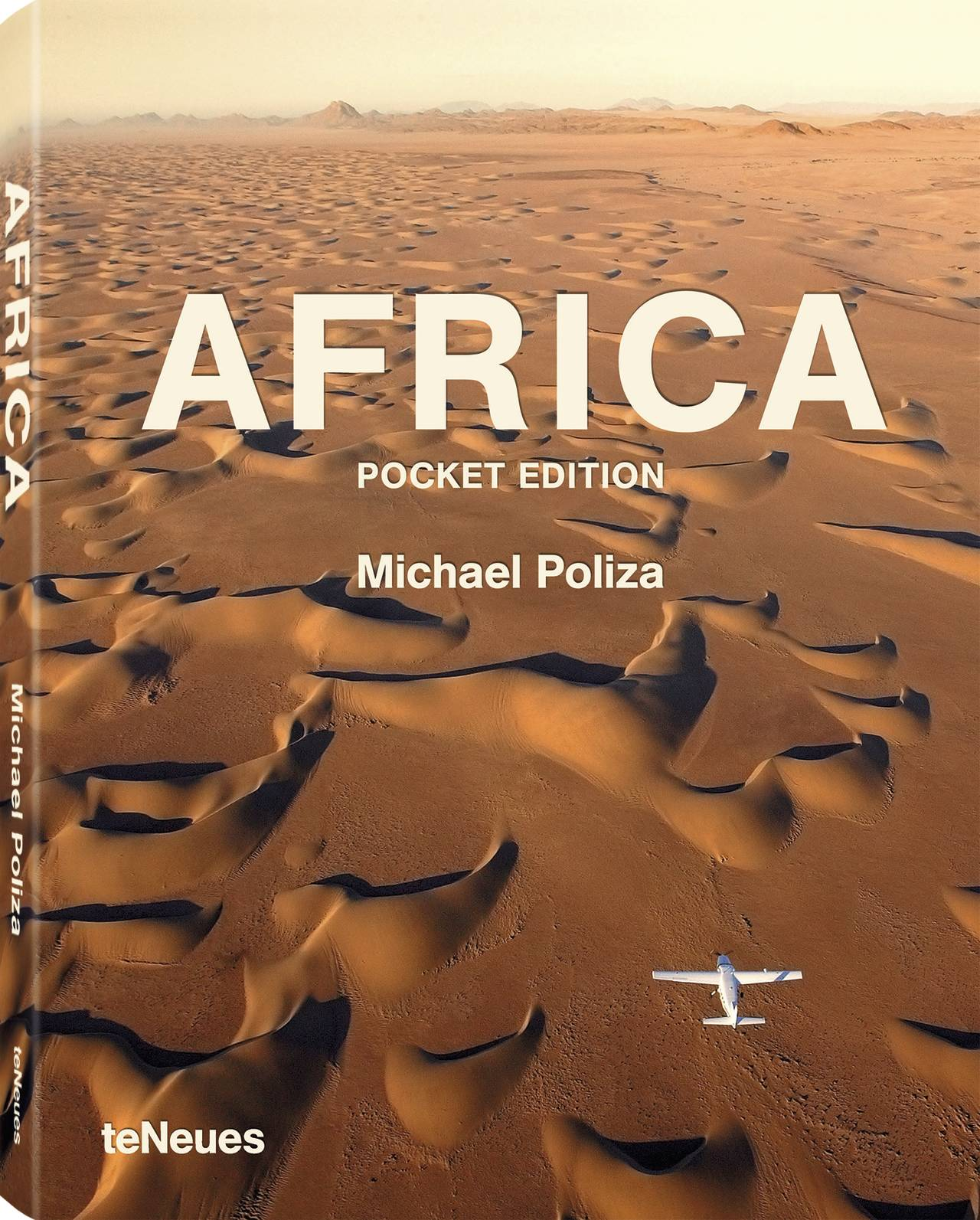 © AFRICA by Michael Poliza - Pocket Edition, published by teNeues, www.teneues.com. Flight to nowhere, Barchan Dunes, Skeleton Coast, Namibia, Photo © Michael Poliza. All rights reserved. www.michaelpoliza.com