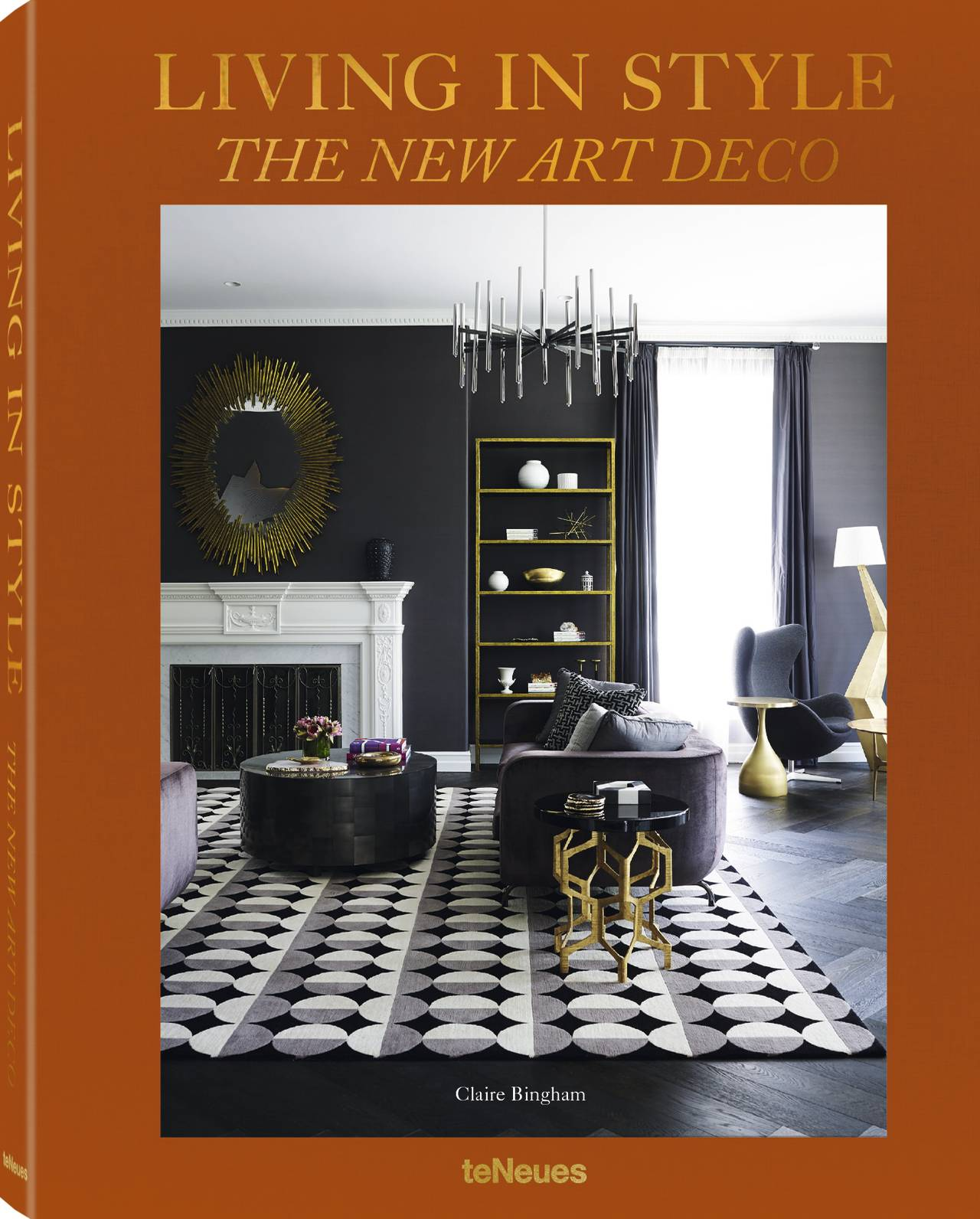 © Living in Style - The New Art Deco by Claire Bingham, published by teNeues, www.teneues.com, Design © Greg Natale, Photo © Anson Smart