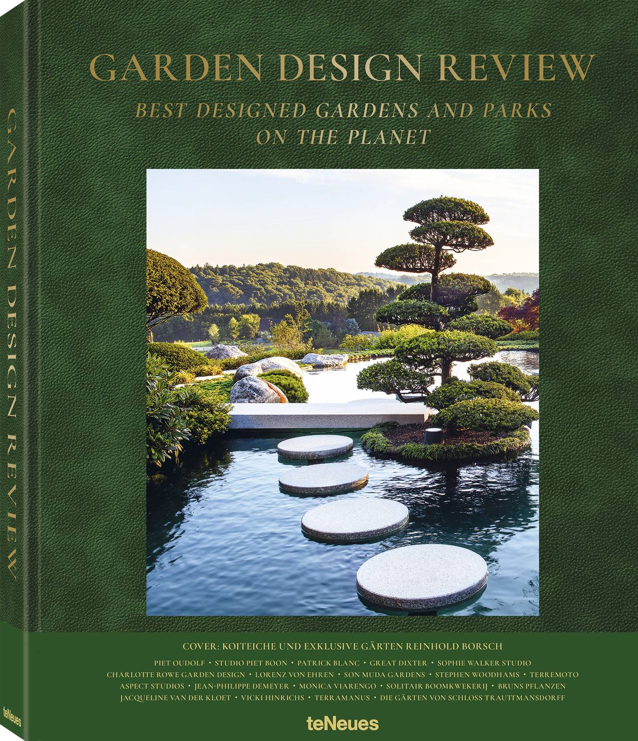 © Garden Design Review - Best Designed Gardens and Parks on the Planet, published by teNeues, www.teneues.com. Koiteiche und exklusive Gärten Reinhold Borsch, Kempen, Germany, Photo © Jürgen Becker