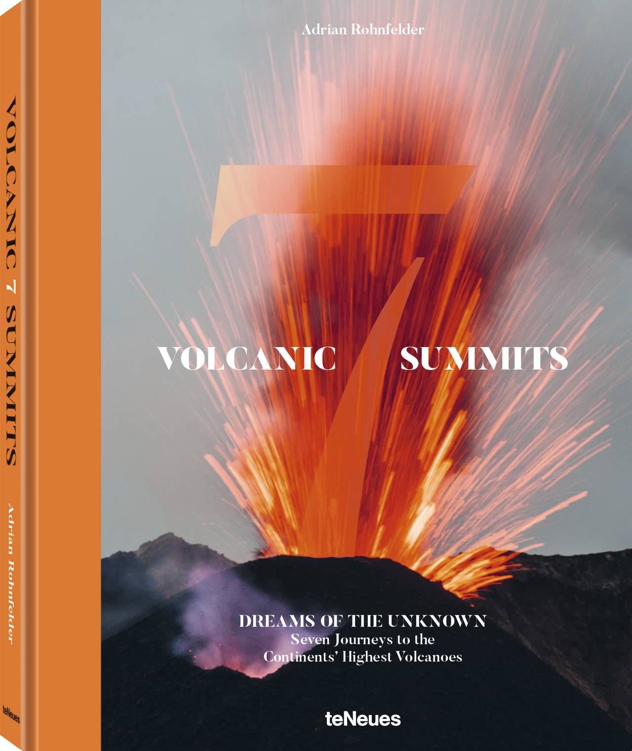 © VOLCANIC 7 SUMMITS - Dreams of the Unknown by Adrian Rohnfelder, published by teNeues, www.teneues.com, Explosive eruption of Stromboli volcano near Sicily, Photo © Adrian Rohnfelder. All rights reserved.