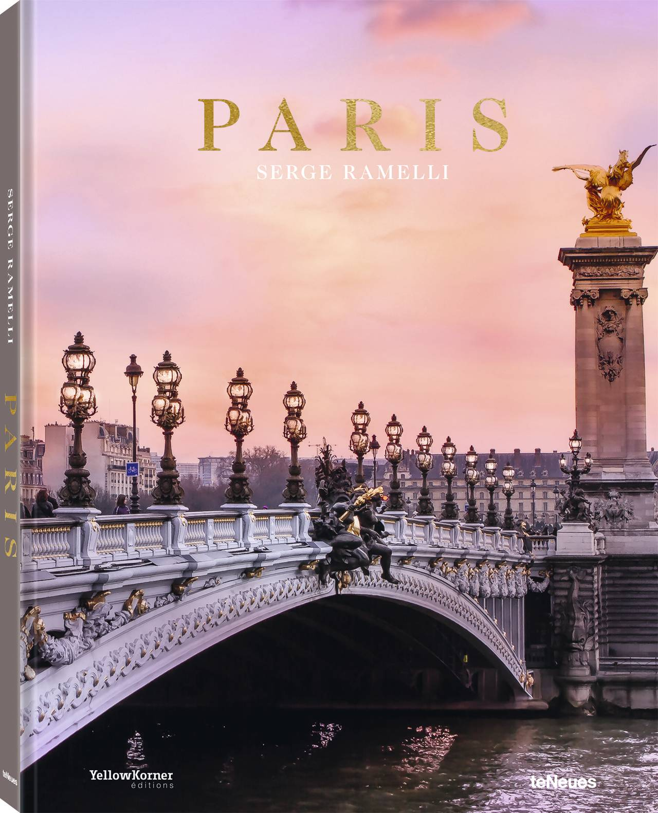 © Paris by Serge Ramelli, published by teNeues, www.teneues.com, The Pont Alexandre III is a relic of the International Exposition in 1900, Photo © 2019 Serge Ramelli. All rights reserved.