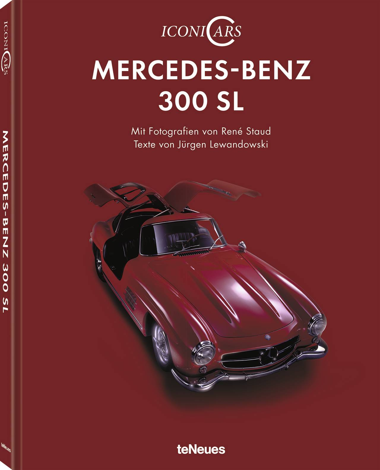 © IconiCars Mercedes-Benz 300 SL, erschienen bei teNeues, € 24,95, www.teneues.com, Photo © Staud Studios GmbH, Leonberg, Germany. www.staudstudios.com