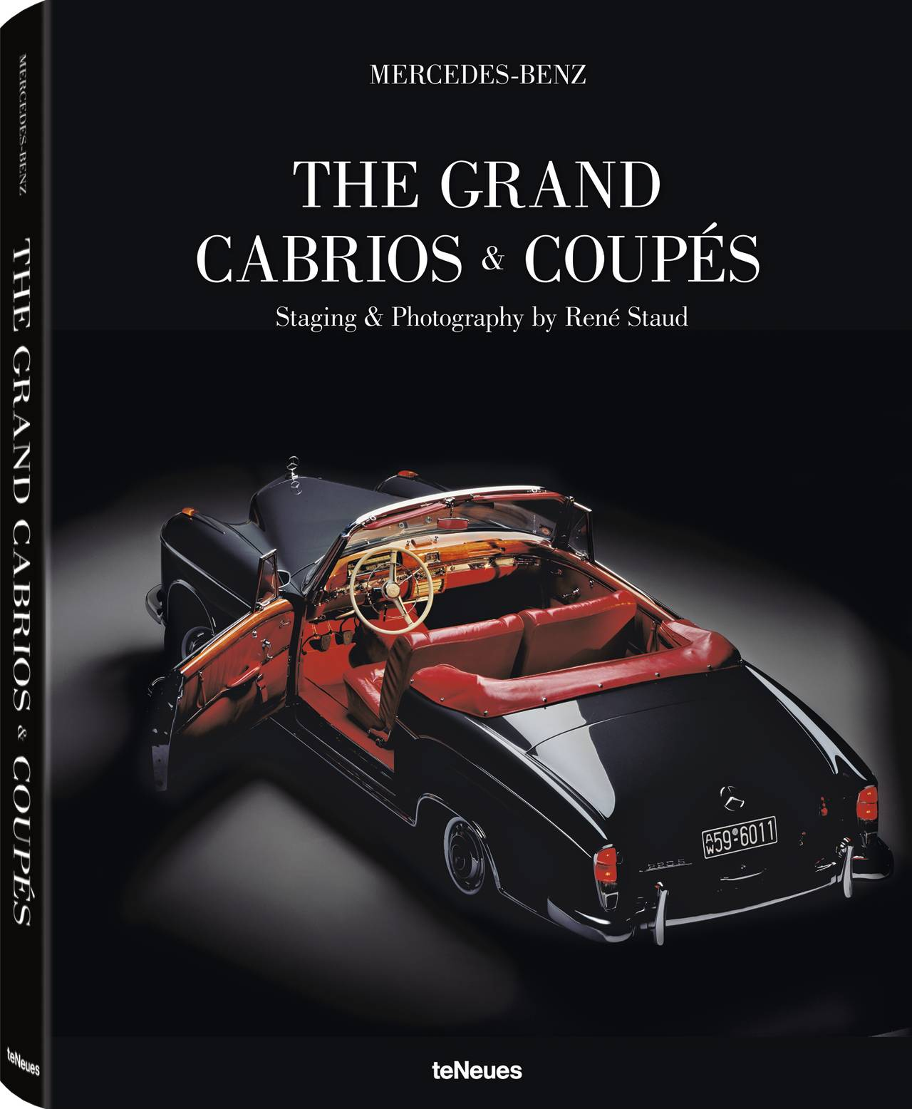 © Mercedes-Benz - The Grand Cabrios & Coupés, Staging & Photography by René Staud, published by teNeues, www.teneues.com. 220 S Cabriolet, 1956-1959, Photo © 2015 René Staud Studios GmbH, Leonberg, Germany. All rights reserved. www.renestaud.com