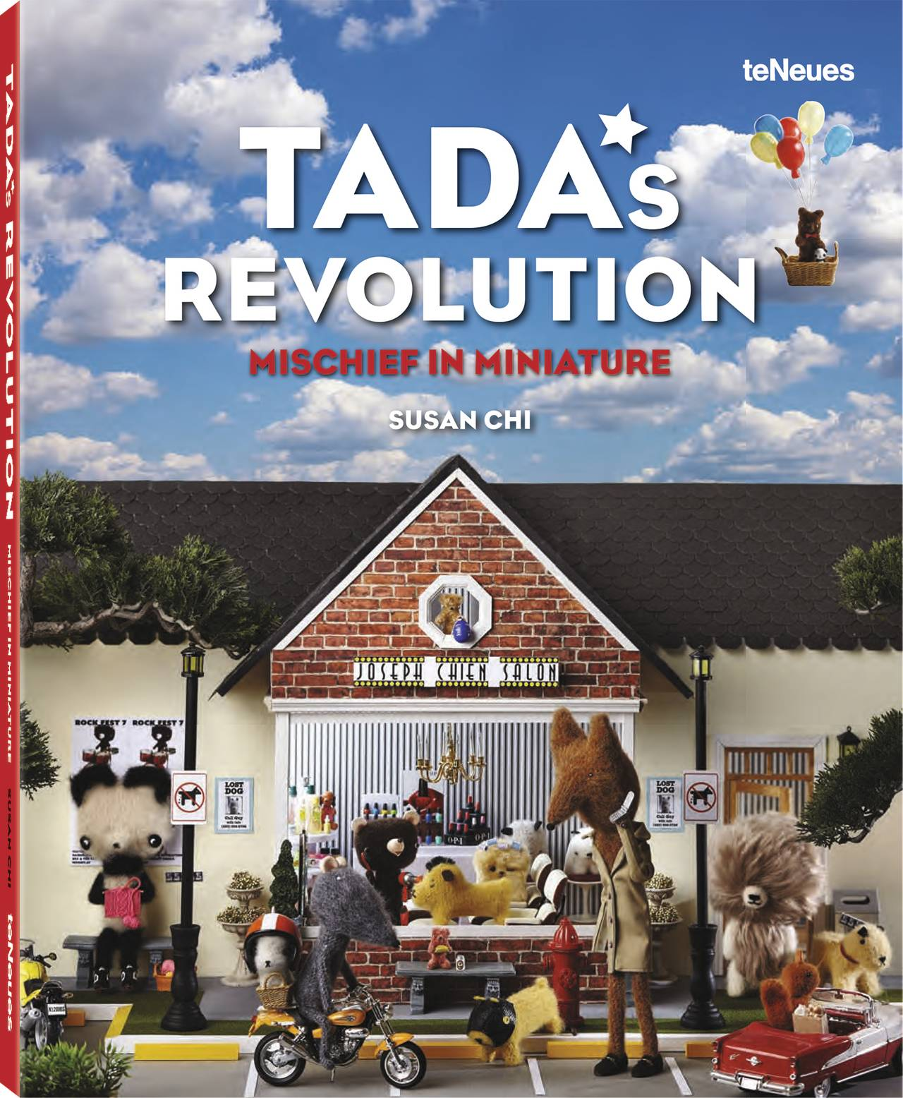 © TADA'S REVOLUTION - Mischief in Miniature by Susan Chi, published by teNeues, www.teneues.com. Photo © 2016 Susan Chi and Nicholas Nguyen. All rights reserved. www.tadasrevolution.com