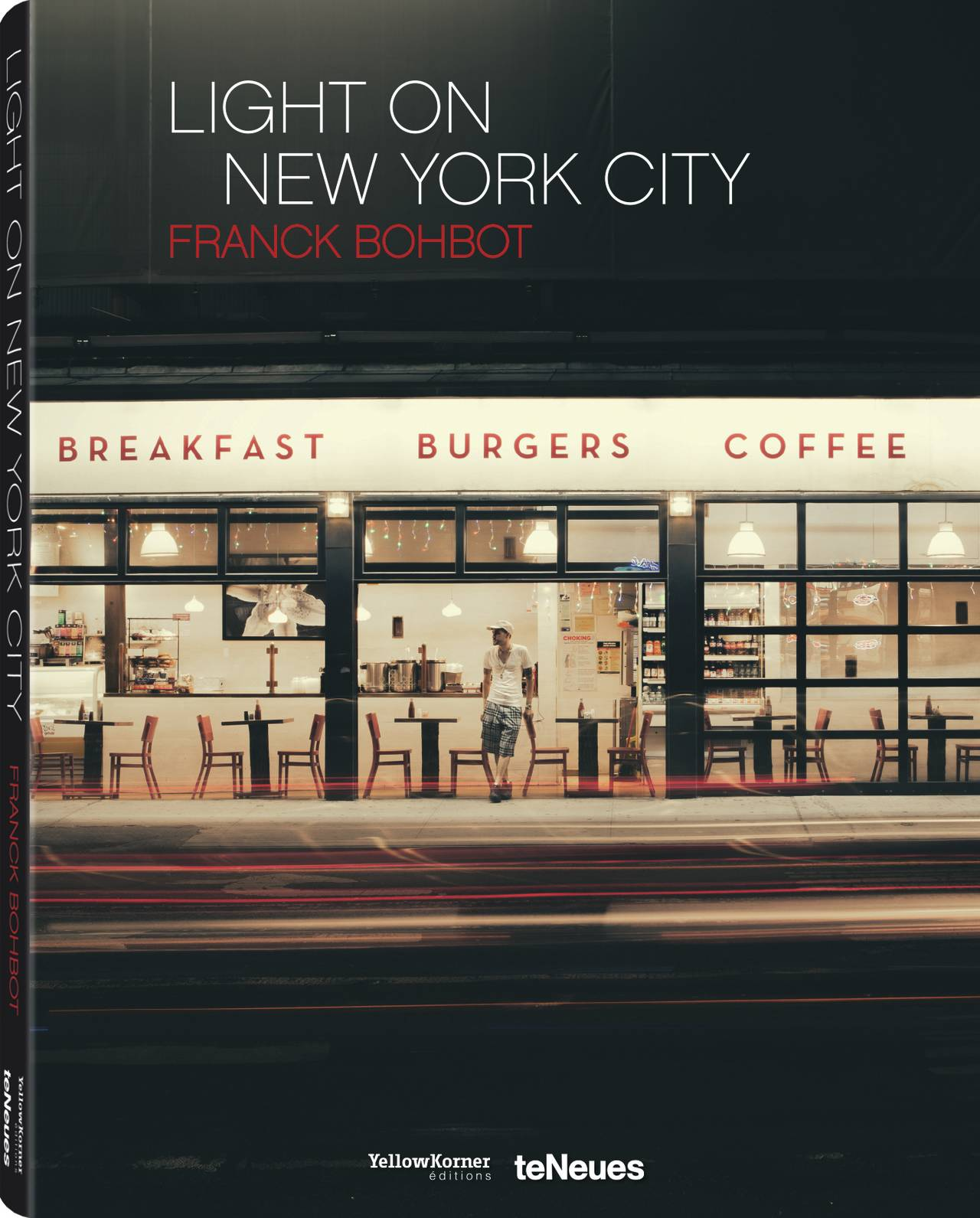 © Light On New City by Franck Bohbot, published by teNeues and YellowKorner, www.teneues.com, www.yellowkorner.com. Sugar Café, Lower East Side, Manhattan, 2013, Photo © 2016 Franck Bohbot/INSTITUTE. All rights reserved. www.instituteartist.com