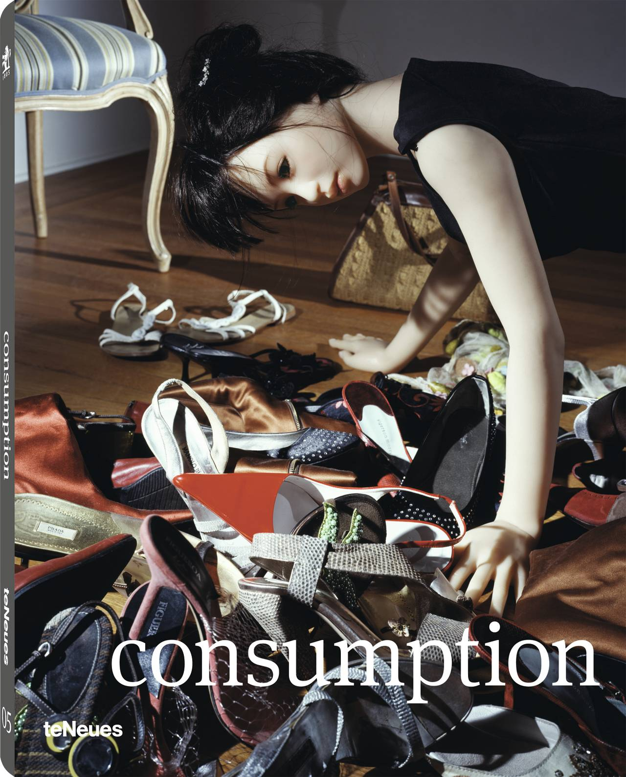 © consumption - Prix Pictet 05, published by teNeues, www.teneues.com. © 2014 courtesy of The Prix Pictet Ltd. www.prixpictet.com, www.pictet.com, Photo © Laurie Simmons, The Love Doll / Day 26 (Shoes), 2010, Cornwall, Connecticut, United States, Series: The Love Doll