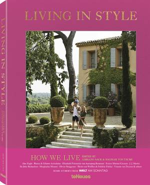 © Living in Style - How We Live, edited by Adriano Sack & Dagmar von Taube, published by teNeues, www.teneues.com, Shirin von Wulffen & Frédéric Fekkai, Aix-en-Provence, Photo © Simon Watson